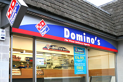 Dominos Pizza Take-away
